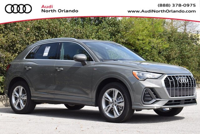 New 2020 Audi Q3 45 S line Premium SUV WA1DECF3XL1048068 L1048068 for sale in Sanford, FL near Orlando