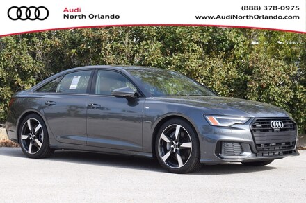 Featured new 2020 Audi A6 55 Premium Plus Sedan for sale in Sanford, FL, near Orlando, FL.