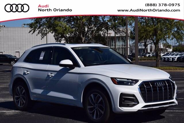New 2021 Audi Q5 45 Premium SUV WA1AAAFY6M2032265 M2032265 for sale in Sanford, FL near Orlando