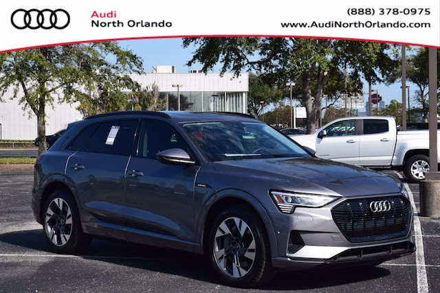 New 2021 Audi e-tron Premium SUV WA1AAAGE5MB009872 MB009872 for sale in Sanford, FL near Orlando