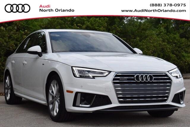 New 2019 Audi A4 2.0T Premium Sedan for sale in Sanford, FL