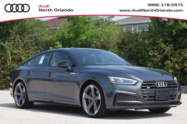 New 2019 Audi S5 3.0T Premium Plus Sportback WAUB4CF56KA094736 KA094736 for sale in Sanford, FL near Orlando