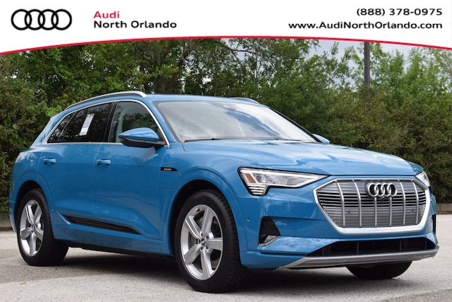 New 2019 Audi e-tron Premium Plus SUV WA1LAAGE8KB020368 KB020368 for sale in Sanford, FL near Orlando