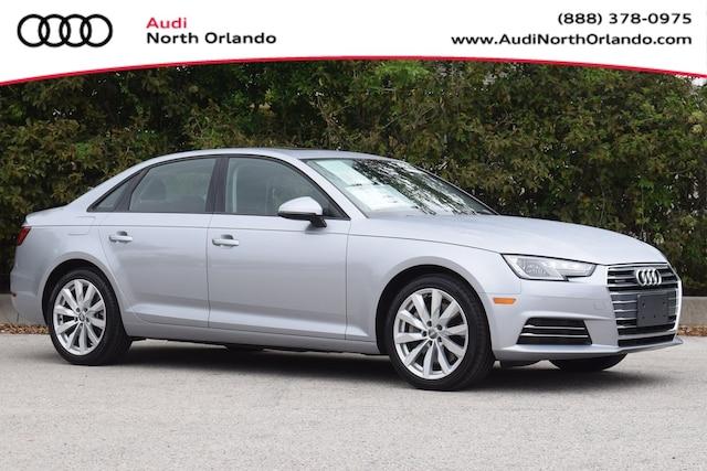 Certified Pre-owned 2017 Audi A4 Premium Sedan WAUANAF49HN017025 HN017025 for sale in Sanford, FL near Orlando