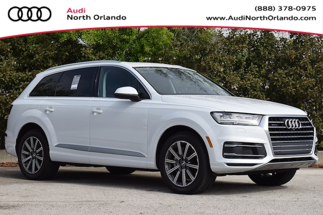 New 2019 Audi Q7 45 SE Premium SUV WA1LHAF7XKD042956 KD042956 for sale in Sanford, FL near Orlando