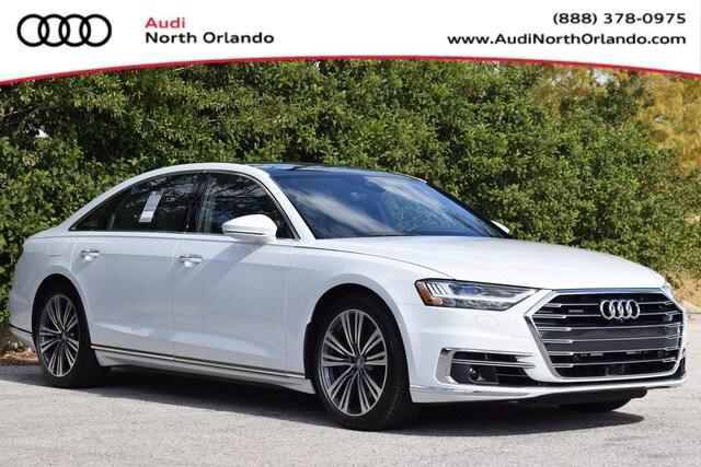 New 2019 Audi A8 L 60 Sedan WAU8EAF87KN024385 KN024385 for sale in Sanford, FL near Orlando
