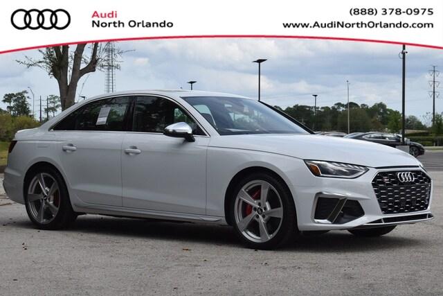 New 2020 Audi S4 3.0T Premium Plus Sedan WAUB4AF4XLA022323 LA022323 for sale in Sanford, FL near Orlando