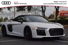 New 2018 Audi R8 5.2 V10 plus Spyder for sale in Sanford, FL