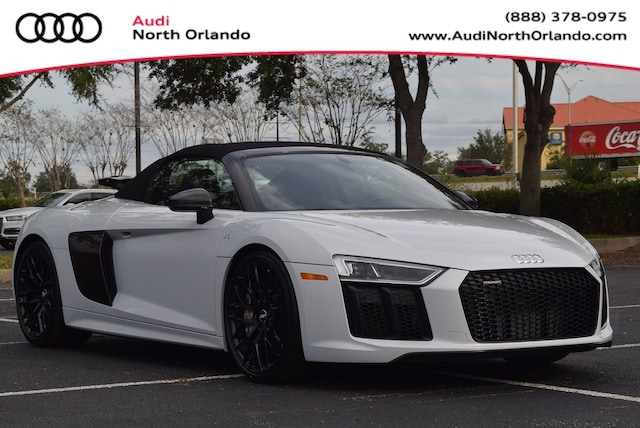 New 2018 Audi R8 5.2 V10 plus Spyder for sale in Sanford, FL