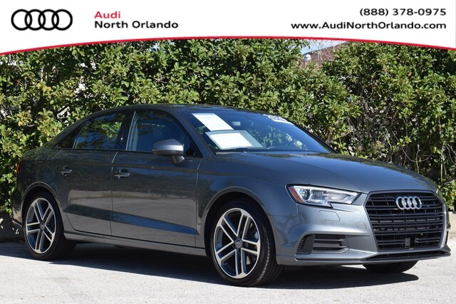 Used 2019 Audi A3 Premium Sedan WAUAUGFF4KA111013 KA111013 for sale in Sanford, FL near Orlando