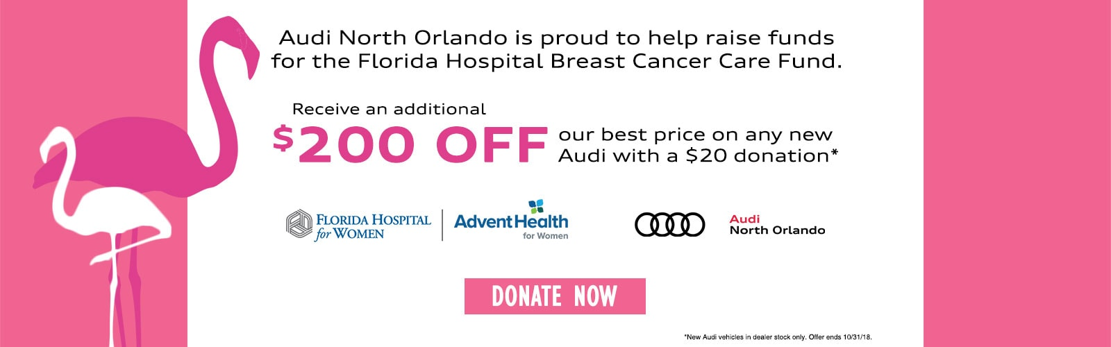 Audi North Orlando Pink Out
