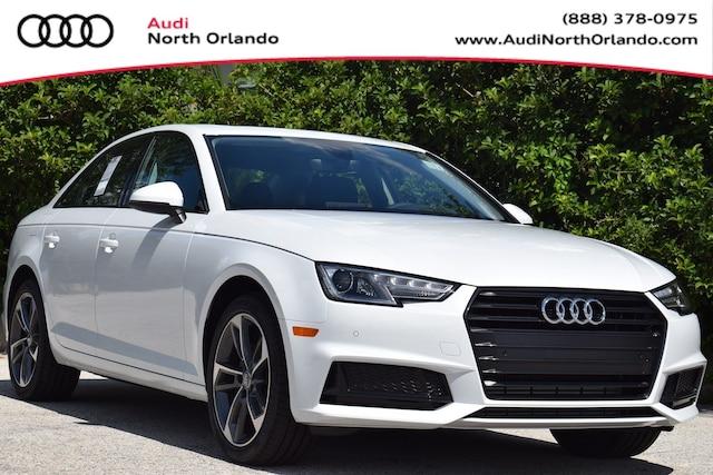 New 2019 Audi A4 2.0T Titanium Premium Sedan WAUGMAF45KN017821 KN017821 for sale in Sanford, FL