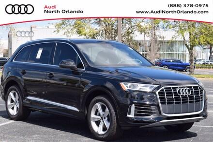 Featured new 2021 Audi Q7 55 Premium SUV for sale in Sanford, FL, near Orlando, FL.