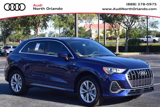 New 2021 Audi Q3 S Line 45 S line Premium SUV WA1DECF35M1032622 M1032622 for sale in Sanford, FL near Orlando
