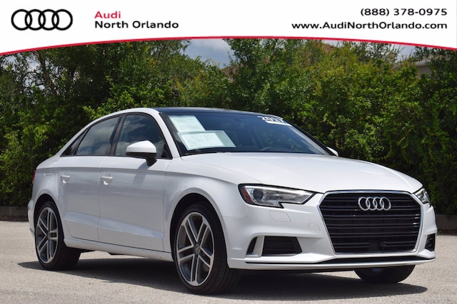 Used 2017 Audi A3 Premium Sedan WAUAUGFF5H1031406 H1031406 for sale in Sanford, FL near Orlando