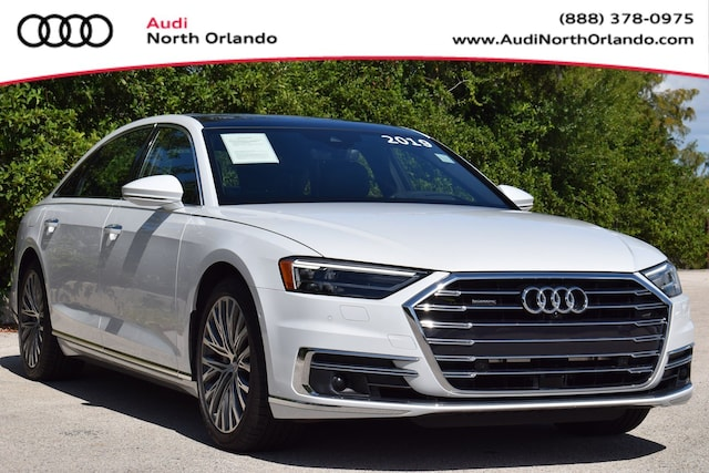 Used 2019 Audi A8 Sedan WAU8DAF86KN010965 KN010965 for sale in Sanford, FL near Orlando