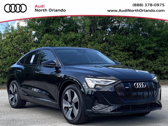 New 2021 Audi e-tron Sportback Prestige SUV WA13AAGE1MB024510 MB024510 for sale in Sanford, FL near Orlando