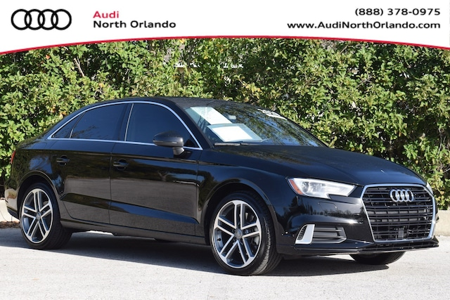 Certified Pre-owned 2019 Audi A3 Premium Sedan WAUAUGFF4K1012837 K1012837 for sale in Sanford, FL near Orlando