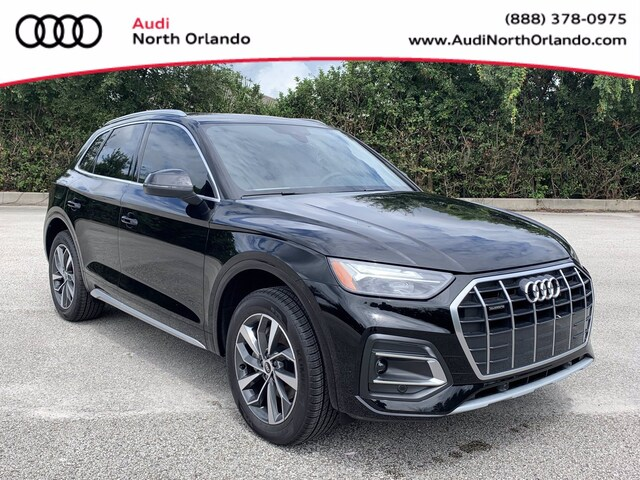 New 2021 Audi Q5 45 Premium SUV WA1AAAFY5M2138142 M2138142 for sale in Sanford, FL near Orlando