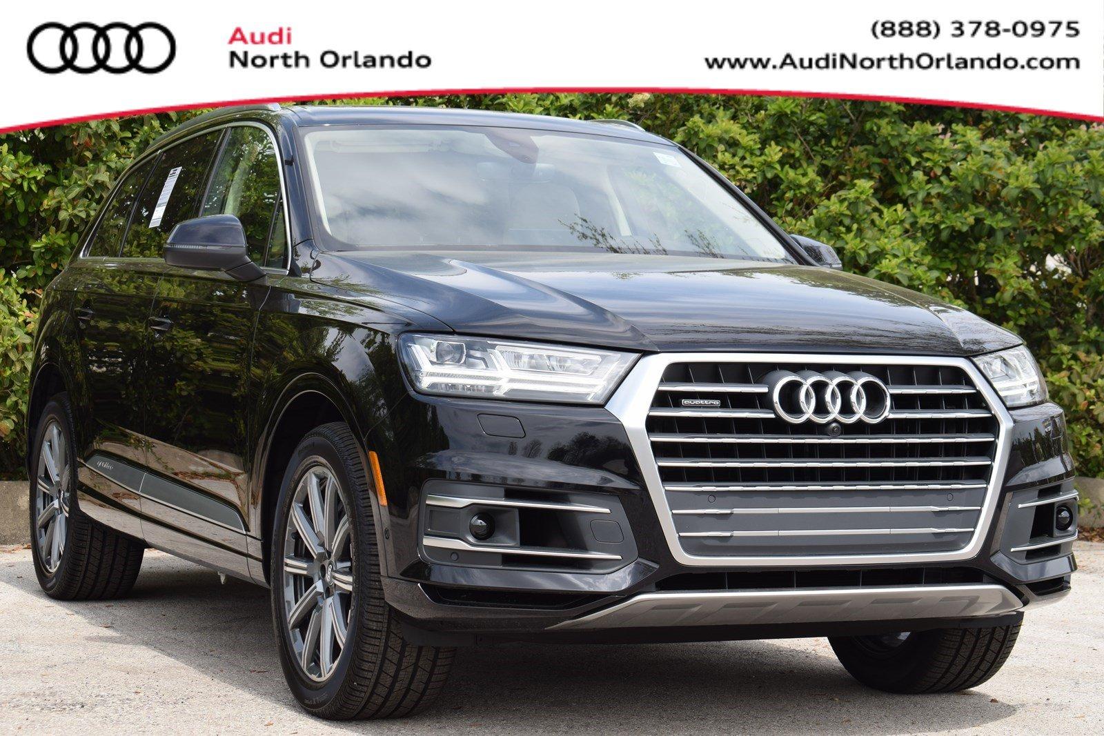 Featured new 2019 Audi Q7 3.0T Premium Plus SUV for sale in Sanford, FL, near Orlando, FL.