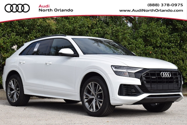 New 2020 Audi Q8 55 Premium SUV WA1AVAF11LD006151 LD006151 for sale in Sanford, FL near Orlando