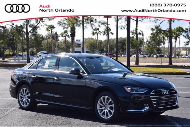 New 2021 Audi A4 40 Premium Sedan WAUABAF45MA024550 MA024550 for sale in Sanford, FL near Orlando