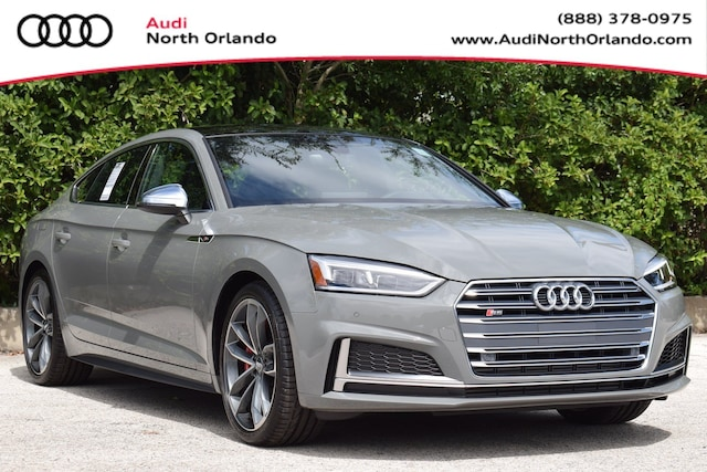 New 2019 Audi S5 3.0T Premium Plus Sportback WAUB4CF50KA072893 KA072893 for sale in Sanford, FL