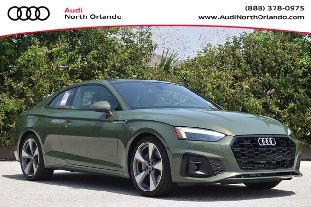 New 2020 Audi A5 2.0T Premium Plus Coupe WAUTNAF58LA003439 LA003439 for sale in Sanford, FL near Orlando