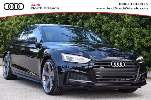New 2019 Audi S5 3.0T Premium Plus Sportback WAUB4CF5XKA077423 KA077423 for sale in Sanford, FL