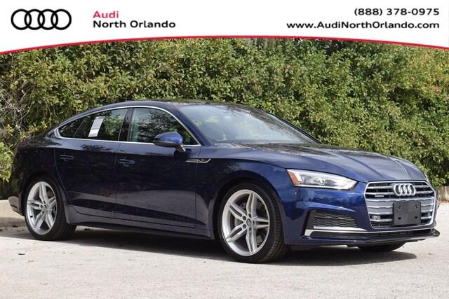 New 2019 Audi A5 2.0T Premium Plus Sportback WAUENCF55KA098240 KA098240 for sale in Sanford, FL near Orlando