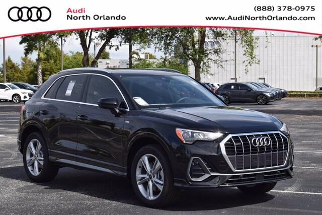 New 2021 Audi Q3 S Line 45 S line Premium SUV WA1DECF38M1043601 M1043601 for sale in Sanford, FL near Orlando