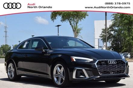Featured new 2020 Audi A5 Coupe 2.0T Premium Plus Coupe for sale in Sanford, FL, near Orlando, FL.