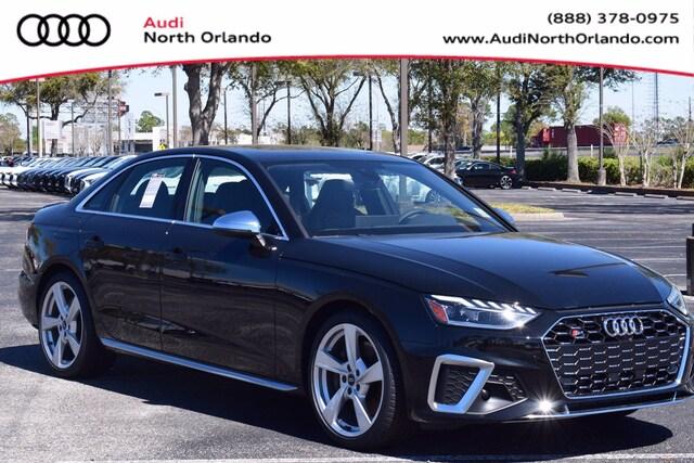 New 2021 Audi S4 3.0T Premium Sedan WAUA4AF43MA031958 MA031958 for sale in Sanford, FL near Orlando