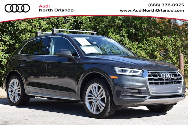 Used 2019 Audi Q5 Premium Plus SUV WA1BNAFY0K2117091 K2117091 for sale in Sanford, FL near Orlando