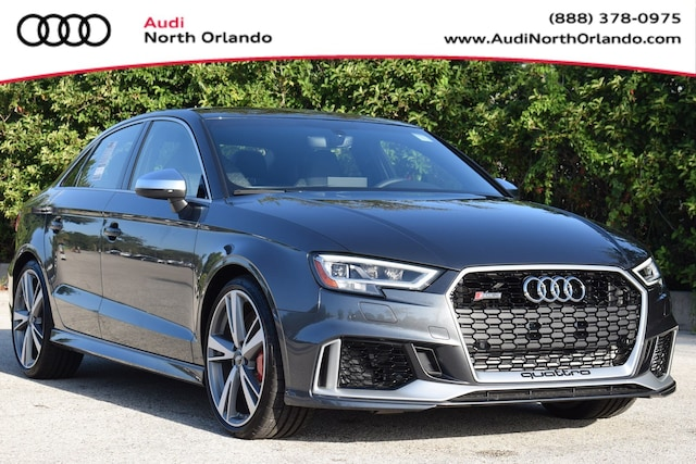 New 2019 Audi RS 3 2.5T Sedan WUABWGFF8KA907462 KA907462 for sale in Sanford, FL near Orlando