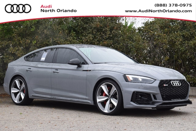 New 2019 Audi RS 5 2.9T Sportback WUABWCF53KA908180 KA908180 for sale in Sanford, FL near Orlando
