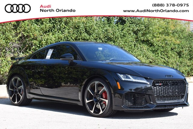 New 2019 Audi TT RS 2.5T Coupe WUAASAFV0K1901473 K1901473 for sale in Sanford, FL near Orlando