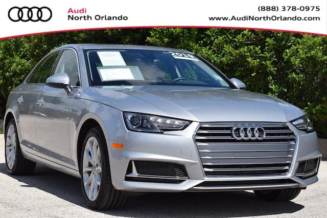 Used 2019 Audi A4 Premium Sedan WAUGMAF41KA023154 KA023154 for sale in Sanford, FL