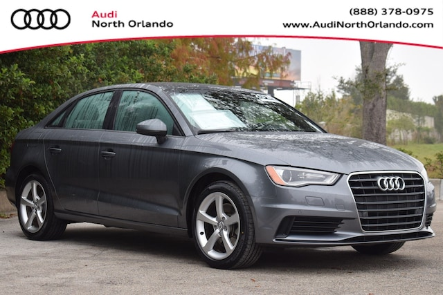 Certified Pre-owned 2016 Audi A3 1.8T Premium Sedan WAUA7GFF6G1066090 G1066090 for sale in Sanford, FL near Orlando