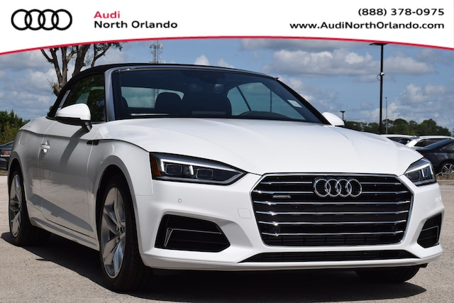 New 2019 Audi A5 2.0T Premium Plus Cabriolet for sale in Sanford, FL