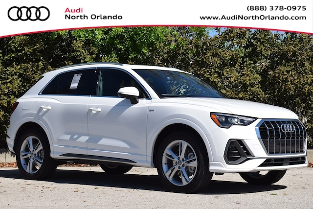 New 2020 Audi Q3 45 S line Premium SUV WA1DECF35L1057034 L1057034 for sale in Sanford, FL near Orlando