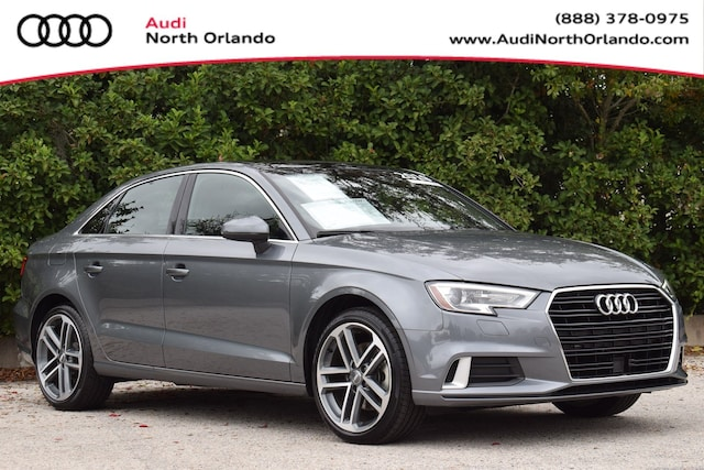 Certified Pre-owned 2019 Audi A3 Premium Sedan WAUAUGFF0K1016268 K1016268 for sale in Sanford, FL near Orlando