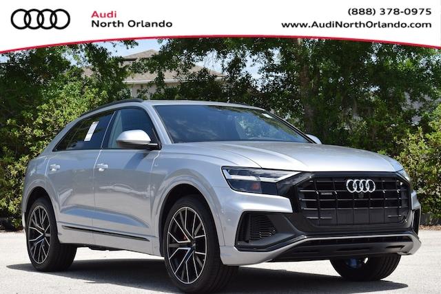New 2020 Audi Q8 55 Premium Plus SUV WA1EVAF18LD020372 LD020372 for sale in Sanford, FL near Orlando