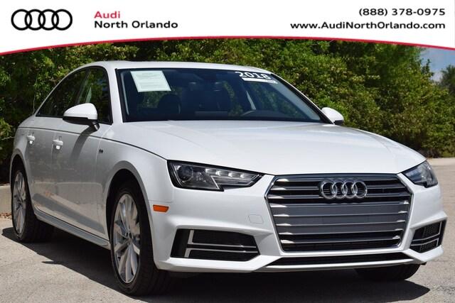 Used 2018 Audi A4 Premium Sedan for sale in Sanford, FL