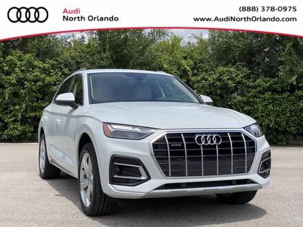 Featured new 2021 Audi Q5 45 Premium SUV for sale in Sanford, FL, near Orlando, FL.