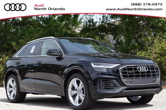 New 2020 Audi Q8 55 Premium SUV WA1AVAF12LD019586 LD019586 for sale in Sanford, FL near Orlando