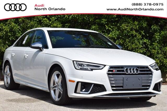 New 2019 Audi S4 3.0T Premium Plus Sedan WAUB4AF46KA119789 KA119789 for sale in Sanford, FL