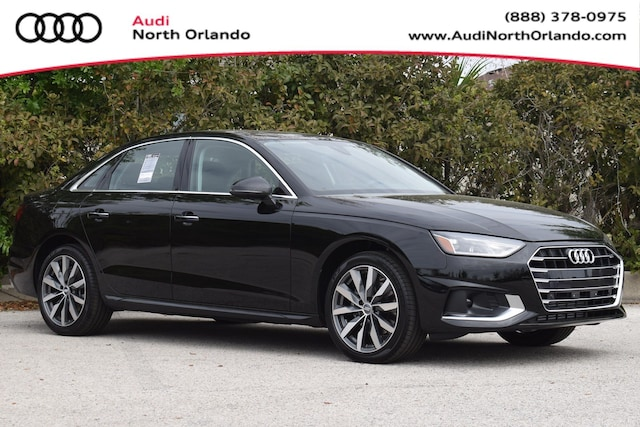New 2020 Audi A4 40 Premium Sedan WAUGMAF49LA039278 LA039278 for sale in Sanford, FL near Orlando