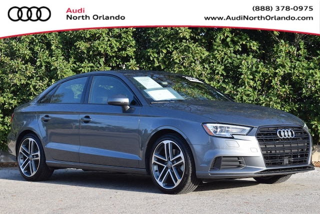 Used 2019 Audi A3 Premium Sedan WAUAUGFF5KA107813 KA107813 for sale in Sanford, FL near Orlando