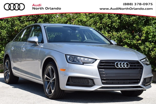 New 2019 Audi A4 2.0T Titanium Premium Sedan WAUGMAF43KA115060 KA115060 for sale in Sanford, FL near Orlando